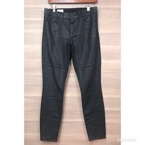 Gap Waxed Legging Skinny Moto Jeans